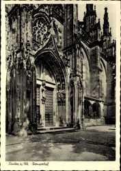 Postcard Xanten am Niederrhein, Ansicht vom Domportal