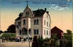 Postcard Würgendorf Burbach Westfalen, Hotel zum Bahnhof, Bes. H. Naaf