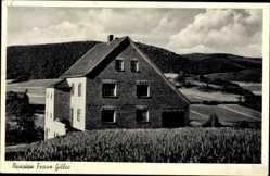 Postcard Hasenfeld Heimbach in der Eifel, Nähe Rurtalsperre, Pension Franz Gilles