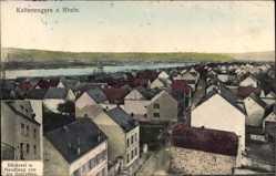 Postcard Kaltenengers Rhein, Bäckerei und Handlung von Alex Schreiber, Totale