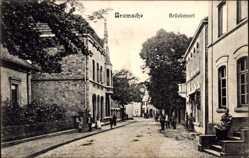 Postcard Bramsche in Niedersachsen, Brückenort, Alte Häuser, Anwohner