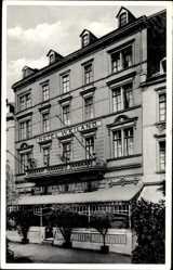 Postcard Oberlahnstein Lahnstein im Rhein Lahn Kreis, Partie am Hotel Weiland