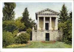 Postcard Oranienbaum Wörlitz im Kreis Wittenberg, Blick auf den Floratempel