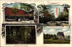 Postcard Borninghausen Oldendorf, Partie an der Grotte, Limberg, Inh. Wessling