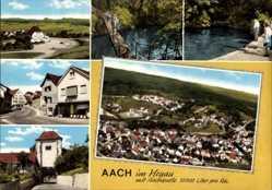 Postcard Aach Hegau im Kreis Konstanz Baden Württemberg, Totalansicht der Ortschaft