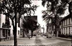 Postcard Werl im Kreis Soest Nordrhein Westfalen, Blick in die Walburgisstraße
