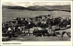 Postcard Oberschledorn Medebach im Hochsauerlandkreis, Totalansicht der Ortschaft