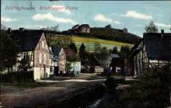 Postcard Elleringhausen Olsberg im Sauerland, Bruchhauser Steine, Straßenpartie