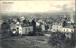 Postcard Gevelsberg Ruhrgebiet, Blick auf den Ort, Feld, Häuser, Schornstein