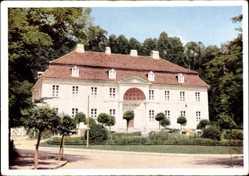 Postcard Bad Freienwalde an der Oder, Landhaus, Nebenhaus des Kurhauses