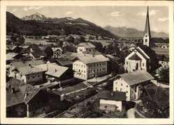 Postcard Bergen im Chiemgau im Kreis Traunstein, Gasthof Zum Hochfelln, Georg Lang
