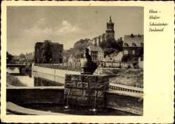 Postcard Kleve Klefse am Niederrhein, Blick auf das Schüsterkes Denkmal