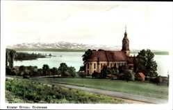 Postcard Birnau Uhldingen Mühlhofen im Bodenseekreis, Blick auf das Kloster