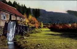 Postcard Nenke und Ostermaier 131 Nr 2565, Wassermühle