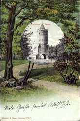 Passepartout Ak Prenzlau in der Uckermark, Stettiner Turm