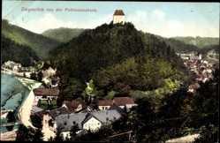 Postcard Ziegenrück am Schiefergebirge Thüringen, Blick von der Pohlmannsbank