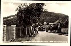 Postcard Martinroda Thüringer Wald, Blick zum Veronikaberg