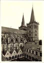 Postcard Xanten am Niederrhein, Der St Viktorsdom, Blick in den Kreuzhof