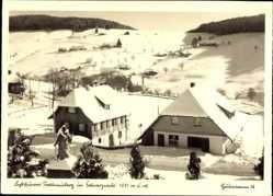 Postcard Todtnau im Südschwarzwald Kreis Lörrach, Todtnauberg im Winter, Schnee