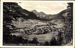 Postcard Steinach Pfronten Ostallgäu Bayern, Gesamtansicht mit Schönkahler