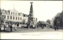Postcard Norderney in Ostfriesland, Partie am Kriegerdenkmal