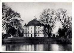 Ak Leśnica Wrocław Deutsch Lissa Breslau, Schloss, Zamek