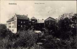 Postcard Osterburg in der Altmark in Sachsen Anhalt, Blick auf das Königliche Seminar