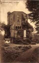 Postcard Mettlach im Kreis Merzig Wadern Saarland, Blick auf den alten Turm, Park