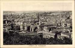 Postcard Hagen in Westfalen Ruhrgebiet, Totalansicht der Ortschaft