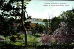 Postcard Buckow in der Märkischen Schweiz, Partie bei der Bollersdorfer Höhe