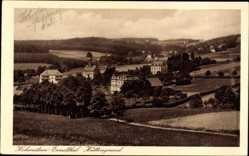 Postcard Hohenstein Ernstthal Landkreis Zwickau, Blick in den Hüttengrund