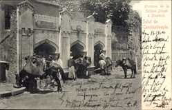 Postcard Konstantinopel Istanbul Türkei, Fontaine de la Sultane Zeineb