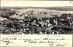Postcard Konstantinopel Istanbul Türkei, Vue splendide du Bosphore, Panorama