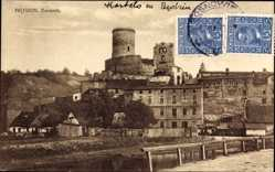 Ak Będzin Bendzin Bendsburg Schlesien, Zamek, Schloss