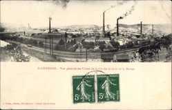 Ak St. Chamond Loire, Vue generale des Usines de la Cie des Anciens de la Marine
