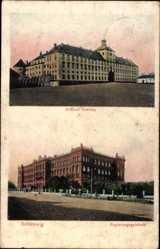 Postcard Schleswig an der Schlei, Schloss Gottorp, Regierungsgebäude
