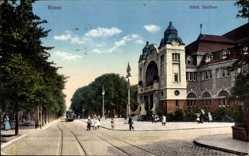 Postcard Essen im Ruhrgebiet Nordrhein Westfalen, Städtischer Saalbau