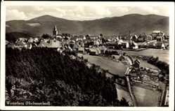 Postcard Winterberg im Hochsauerlandkreis, Gesamtansicht des Ortes