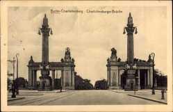 Ak Berlin Charlottenburg, An der Charlottenburger Brücke