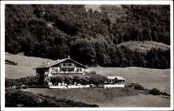 Postcard Nonn Bad Reichenhall in Oberbayern, Alpenhotel Fuchs mit Umgebung