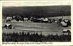 Postcard Deutscheinsiedel Deutschneudorf im Erzgebirge, Ortschaft mit Umgebung