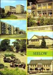Postcard Seelow im Kreis Märkisch Oderland, Oberschule Karl Marx, Slubicer Str.