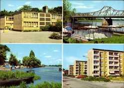 Postcard Brandenburg an der Havel, Plaue, Polytechn. Oberschule Geschw. Scholl