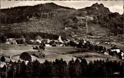 Postcard Bodenmais im Bayerischen Wald Niederbayern, Panorama vom Ort