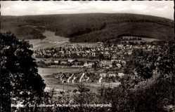 Postcard Veckerhagen Reinhardshagen an der Weser, Panorama der Ortschaft