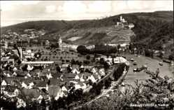 Postcard Hassmersheim Neckar Baden, Panorama, Ort, Fluss