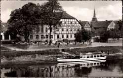 Postcard Bodenwerder in Niedersachsen, Hotel Zum Goldenen Anker