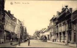 Postcard Roulers Westflandern, Vue générale de la Rue de l'Est