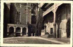 Postcard Kaliningrad Königsberg Ostpreußen, Schlosswinkel am Blutgericht