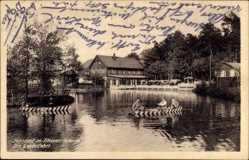 Postcard Jonsdorf Zittauer Gebirge, Partie auf dem See, Gondelfahrt, Ruderboote